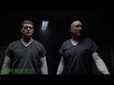 Arrow 7x07 Oliver and Turner vs Brick and Sampson (HD)