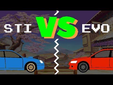 WRX STi vs Evo VIII