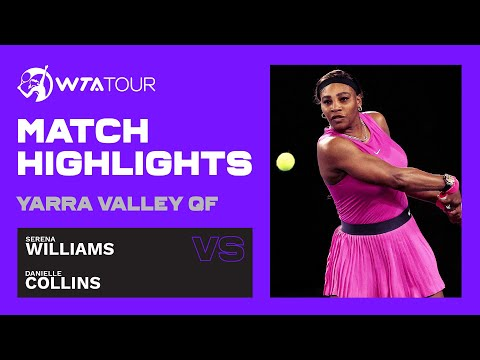 D. Collins vs. S. Williams - Match Highlights - WTA