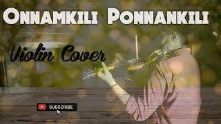Onnamkili Ponnankili   Violin Cover   Kilichundan Mambazham   Mohanlal   Soundarya #malayalam