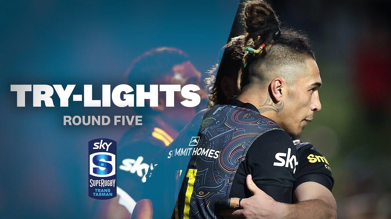 ALL TRIES: Round Five (Sky Super Rugby Trans-Tasman)