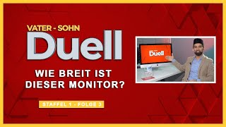 Wie breit ist dieser Monitor? | Vater Sohn Duell | S1F3