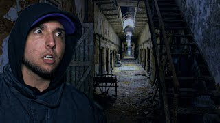 OVERNIGHT in HAUNTED PRISON: Visiting the Gas Chamber