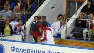 Открытые прокаты сборной России по фигурному катанию сентябрь 2015