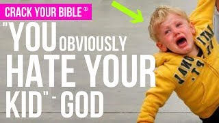 God says you HATE your kids if you don't discipline them | #CrackYourBible Vlog