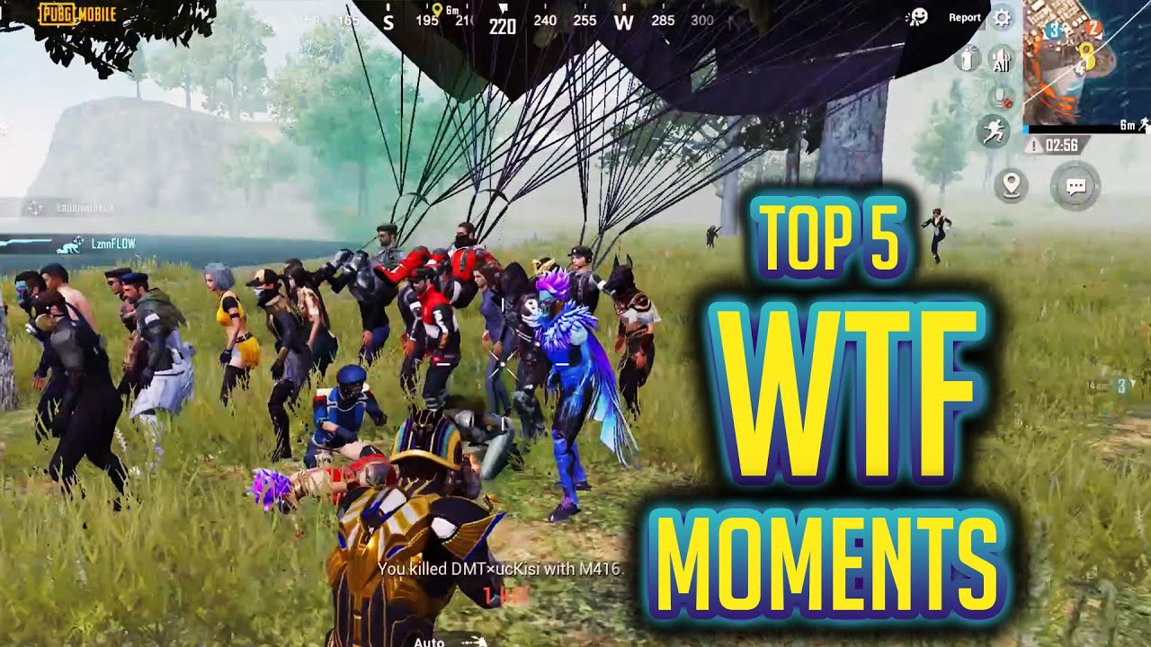 Top 5 PUBG Mobile Funniest WTF Moments