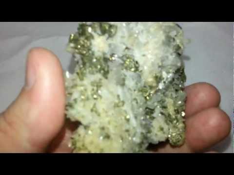 Pyrite sur Quartz-Lithothérapie