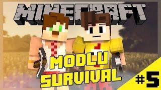 Game of Mods #5:Nasıl Yaratık lan o ? [Facecam - Modlu Survival]