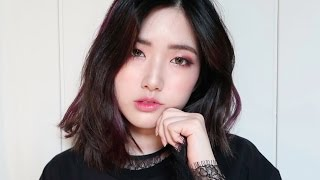 figcaption Burgundy Makeup for Hazel Eyes | 버건디 메이크업