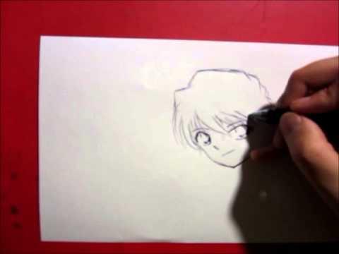 Drawing Detective Conan (Ai Haibara) 【落書き灰原哀ちゃん】