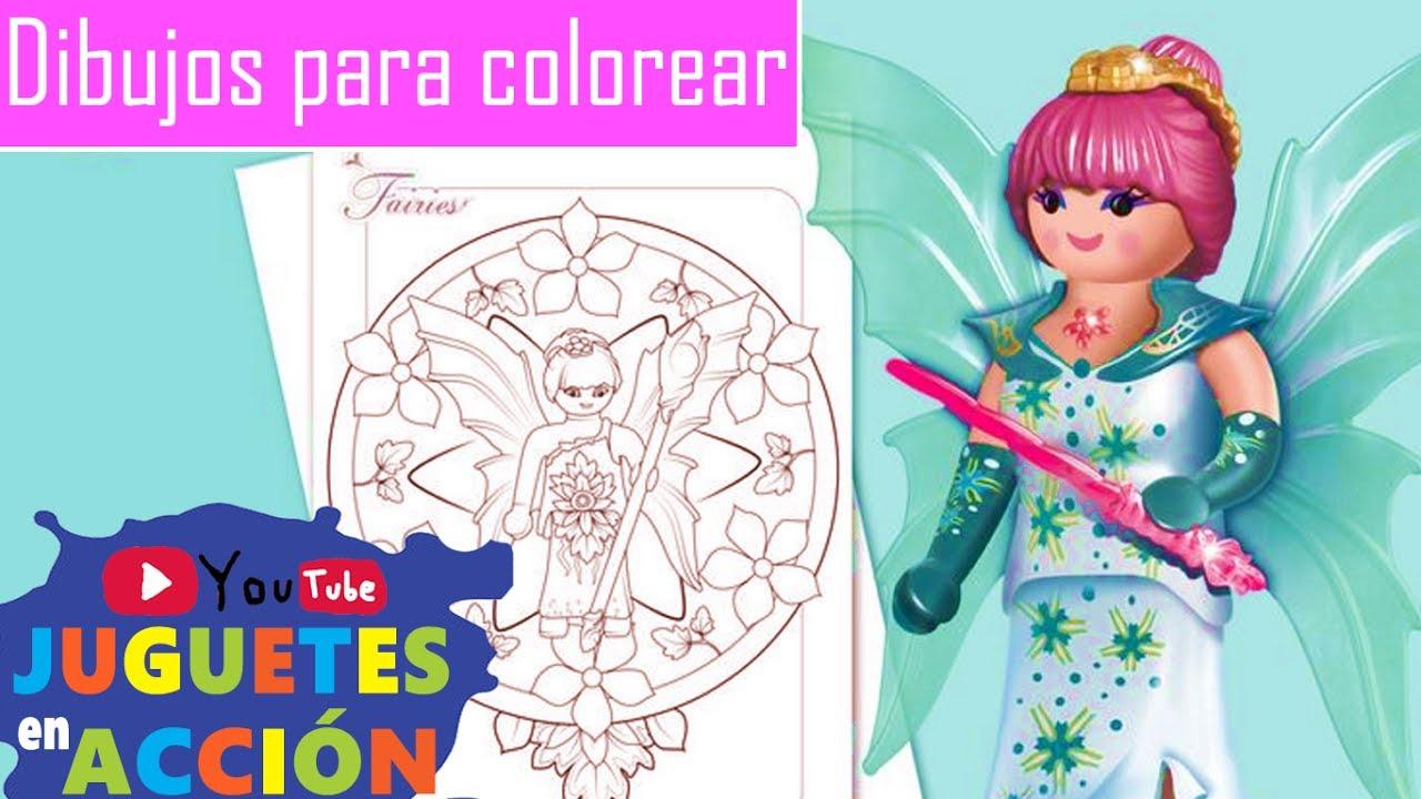Playmobil en español 🎨 DIBUJOS para COLOREAR PLAYMOBIL PLAYMOBIL ...