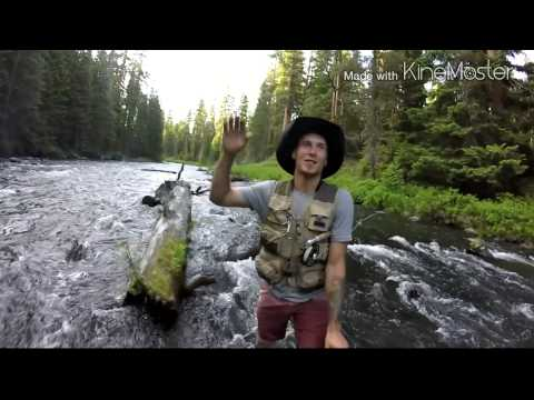 Fly fishing central oregon by mathew price youtube for Oregon fishing license price