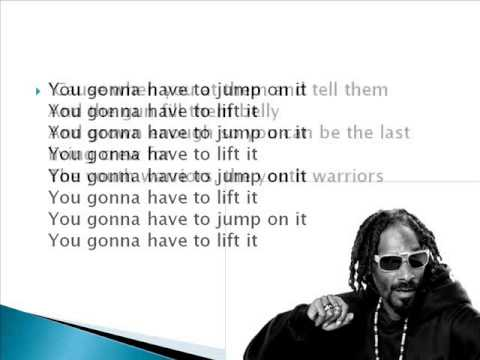 Snoop Lion feat. Angela Hunte & Elan Atias - Get Away (screen lyrics)