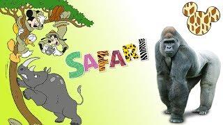 Przyjaciele na Safari #45 • Disney • Goryl Gustaw • Encyklopedia zwierząt z zabawkami