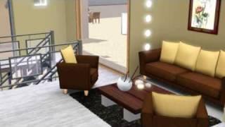 Maison design Sims 3