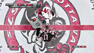 NHL 11 Gameplay | NHL vs OHL - Sens vs 67s