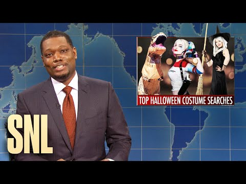 Weekend Update: Top Halloween Costumes & Grocery Store Racism - SNL