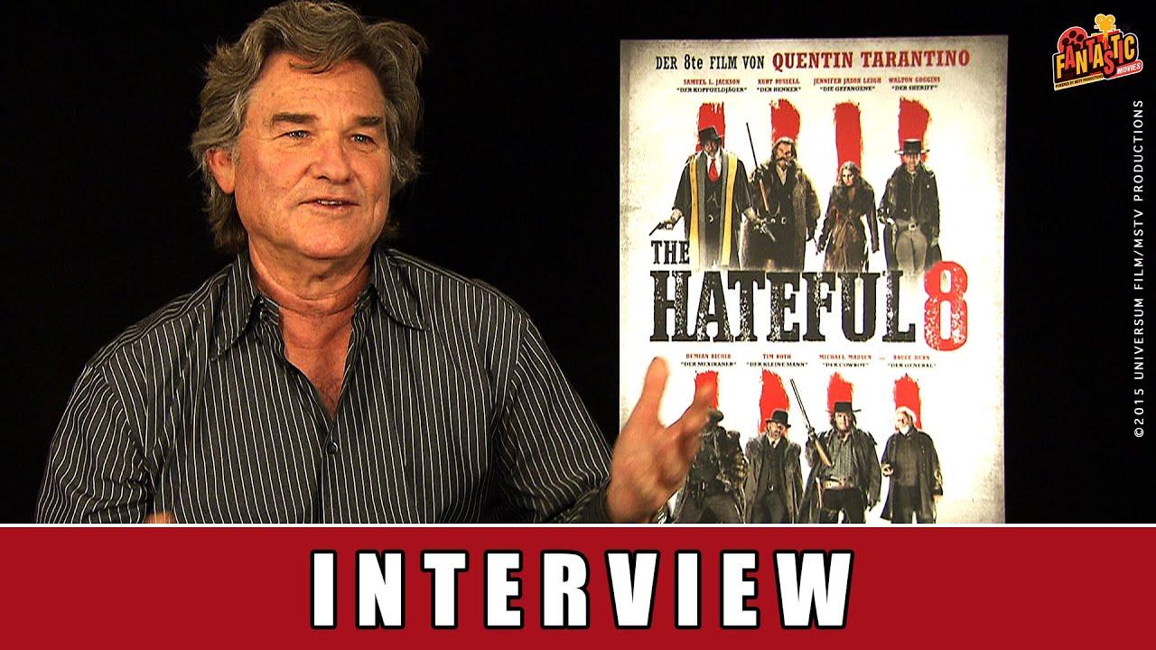The Hateful 8 - Interview   Kurt Russell