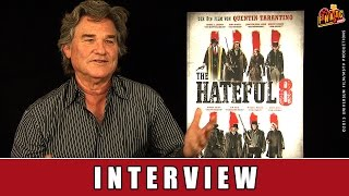 The Hateful 8 - Interview | Kurt Russell