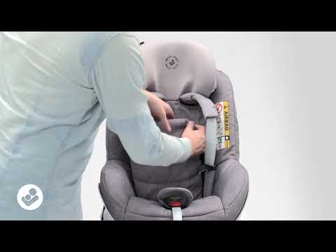 Maxi-Cosi |  Pearl Pro & Pearl Pro 2 I-Size | How To Adjust The Headrest For Use In Sports Car