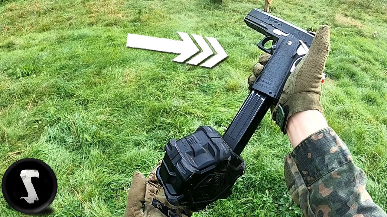 Terrifying the SH*T out of Players with World's FASTEST Full-Auto Airsoft Pistol.
