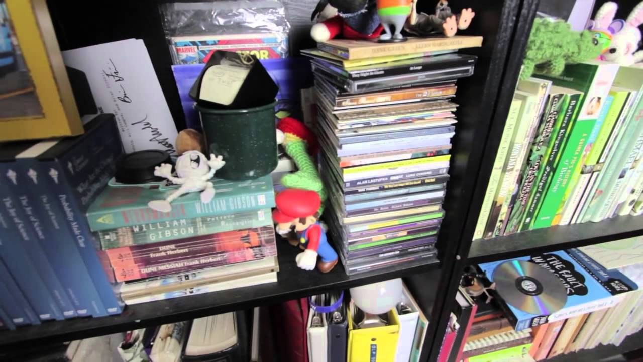 A Tour Of My Bookshelf
