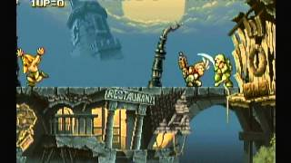 Metal Slug Anthology - Metal Slug (Nintendo Wii) Game Play