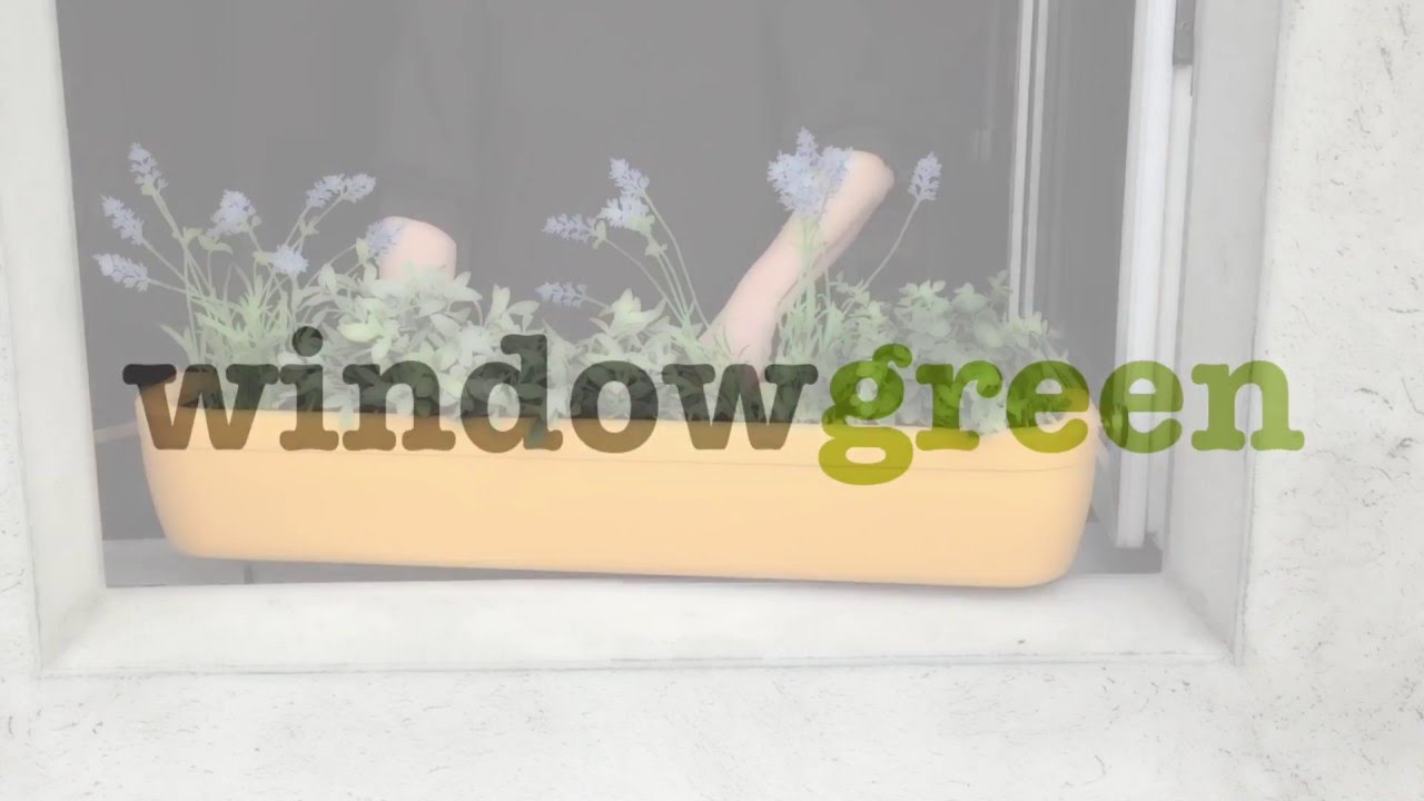 Windowgreen Fensterbank Blumenkasten Windowbox Youtube