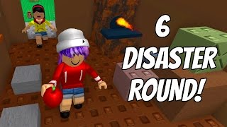 ROBLOX SURVIVE THE NATURAL DISASTERS | NO SURVIVORS! | RADIOJH GAMES & DOLLASTIC PLAYS!