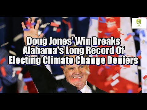 Doug Jones' Win Breaks Alabama's Long Record Of Electing Climate Change Deniers
