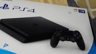 PlayStation 4 Slim 1TB Unboxing