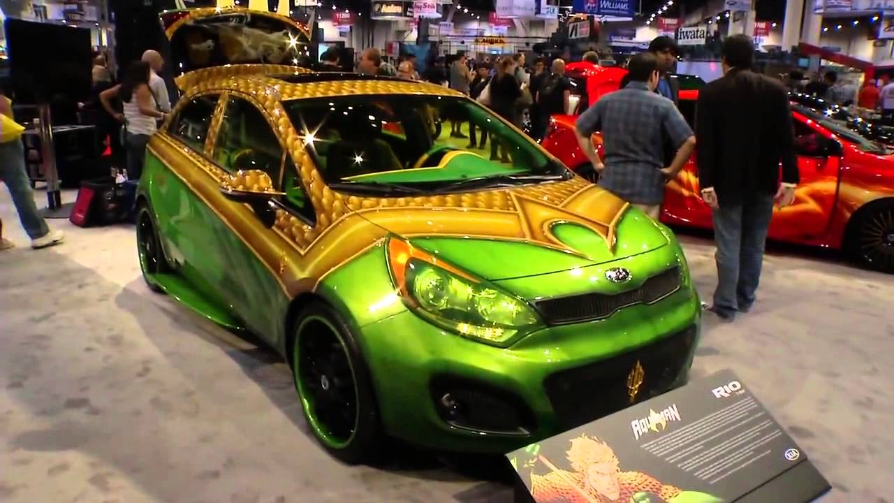 West Coast Customs Cars >> Kia and DC Entertainment team up to make Justice League Customized Vehicles - YouTube