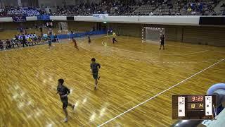 7日 ハンドボール男子 あづま総合体育館Aコート 不来方×北陸 3回戦2