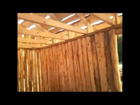 видео: Как мы построили баню за 12 дней..avi
