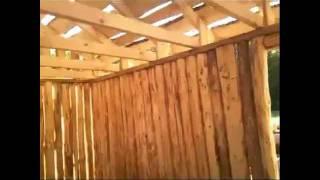 Как мы построили баню за 12 дней..avi(Я строитель, вот решил показать, как можно самоу построить баньку меньше чем за 2 недели. Проэкт очень удачны..., 2012-02-26T09:05:17.000Z)