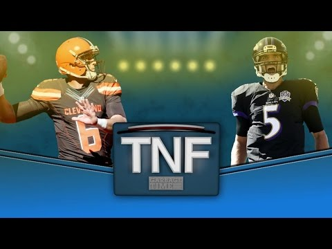Thursday Night Football: Baltimore Ravens vs. Cleveland Browns