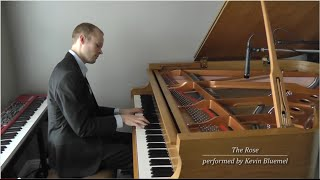 The Rose (solo piano) (Kevin Bluemel)