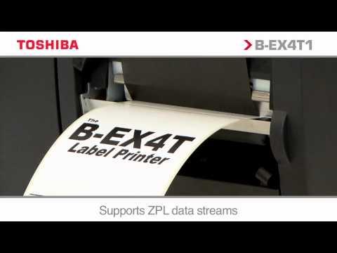 Toshiba B-EX4T1 Printer - Part of Toshiba's Carbon Zero Scheme