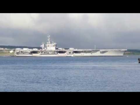 USS Dwight D. Eisenhower in Halifax Harbour (June 28, 2017)