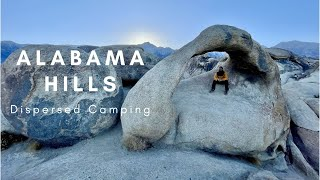 Alabama Hills Dispersed Camping! Y๐u have to check it out!