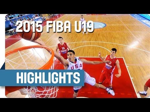 USA v Croatia - Final Game Highlights - 2015 FIBA U19 World Championship