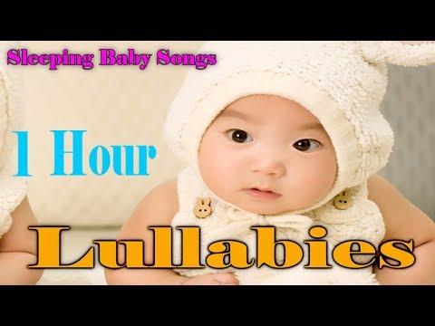 1 HOUR Lullabies and Baby Songs ❤♫☆ Baby Sleep Music to put a baby to sleep - Sleeping Baby Songs