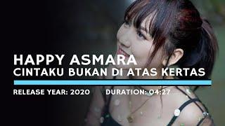 Gambar cover Happy Asmara   Cintaku Bukan Diatas Kertas   Bukan Cinta Biasa (Lyric KARAOKE ZONE)