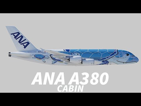 The ANA Airbus A380 CABIN REVEALED