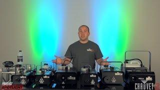 CHAUVET DJ Product Spotlight - Fog Machine Frenzy
