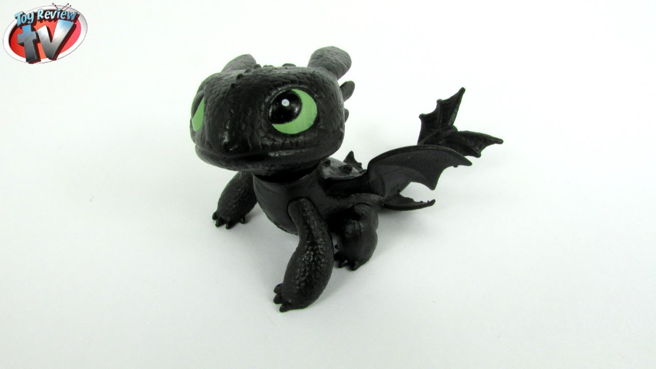 Dragons Defenders Of Berk Toothless Figure Toy Review Spin Master