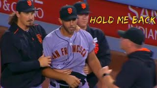 Madison Bumgarner getting Pissed Off