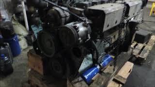 Первый старт после ремонта, двигатель HOWO WD615 Евро 2