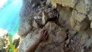 Martin Kremer - Free Solo Climb from Es Pontas loc. OS