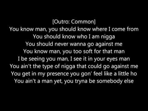 Common - Sweet  [LYRICS ON SCREEN]